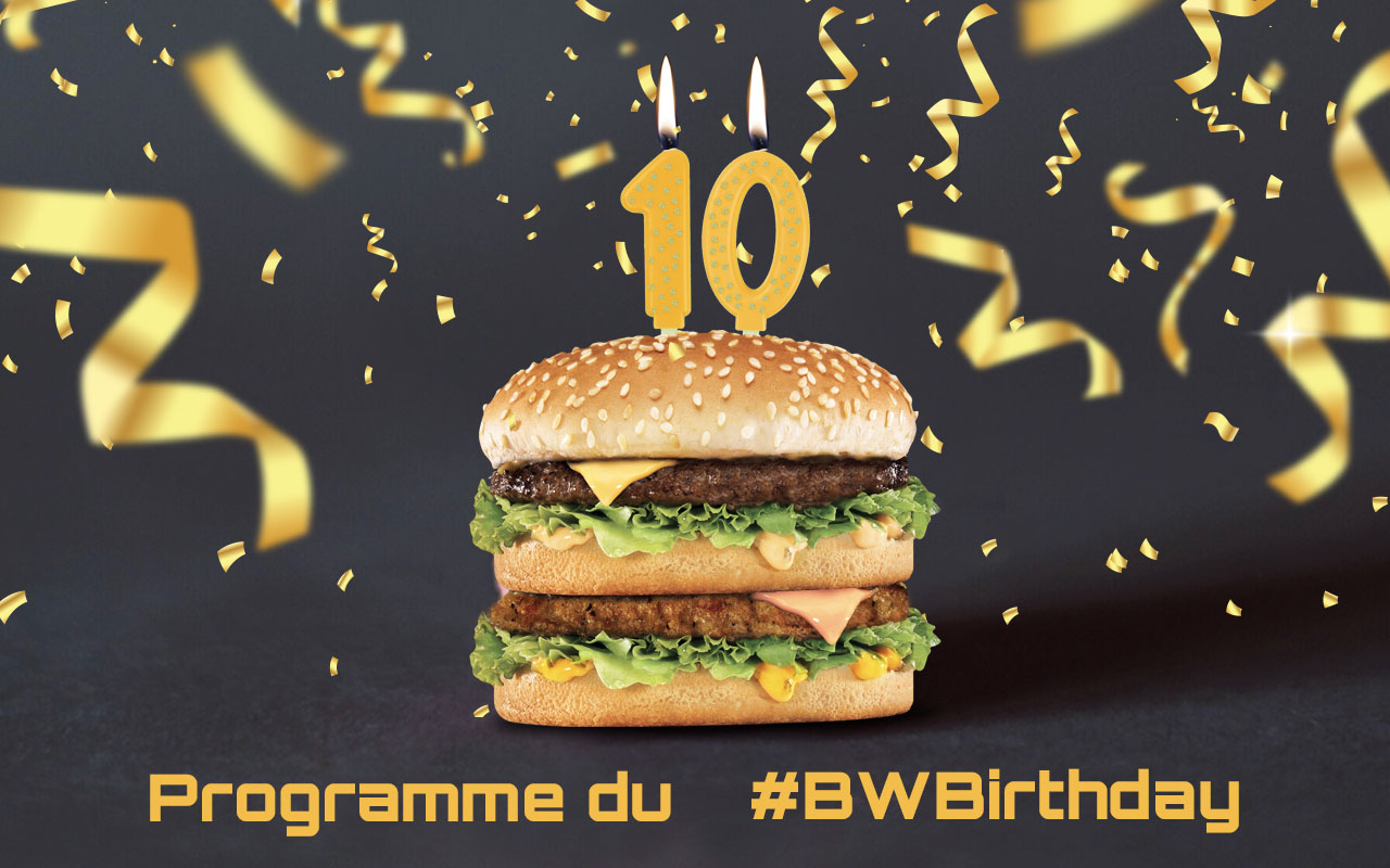 L'Anniversaire Burger World